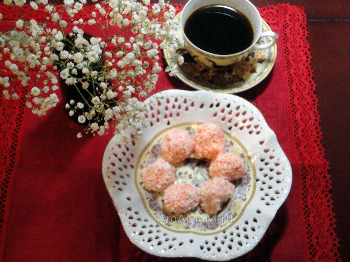 Рецепт рафаэлло в домашних условиях