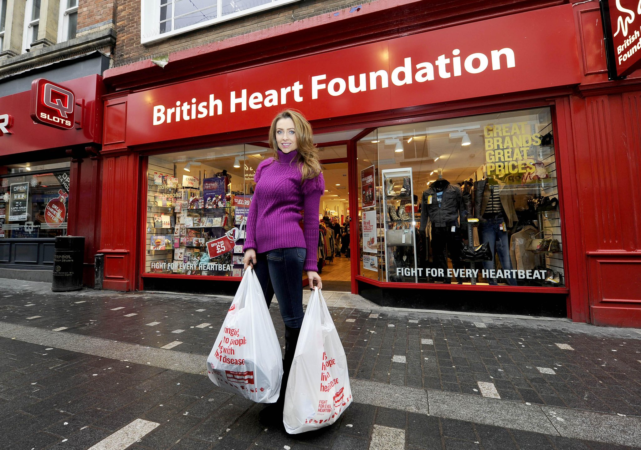 RT @LivEchonews: See @gemmamerna at Liverpool's @TheBHF store donating items and picking out party outfits http://t.co/bZMXBoOH6Z http://t.…