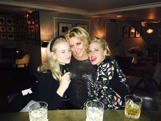 #charliesangels #sistersaredoinitforthemselves @myanimaldiaries @PixieLott girls night out ;) x http://t.co/GtI776AM2C