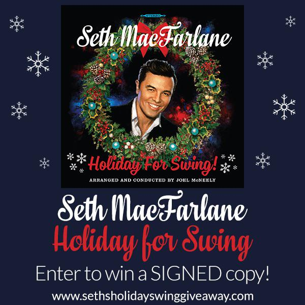Starting today thru Saturday the 20th, enter to win a signed copy of #HolidayforSwing ...  http://t.co/eAMSRig5PW http://t.co/NMtM1F873Q
