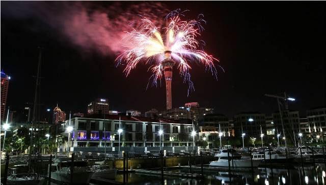 Happy New Year Auckland City! http://t.co/V0q29rVctD