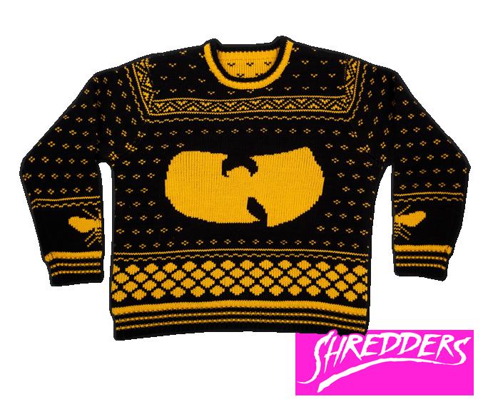 ウータン・クランとア・トライブ・コールド・クエスト仕様のセーター。トライブのはカラーリング的にクリスマス向きかも! http://t.co/jK6U0lzmfQ http://t.co/19cA3hhbSS