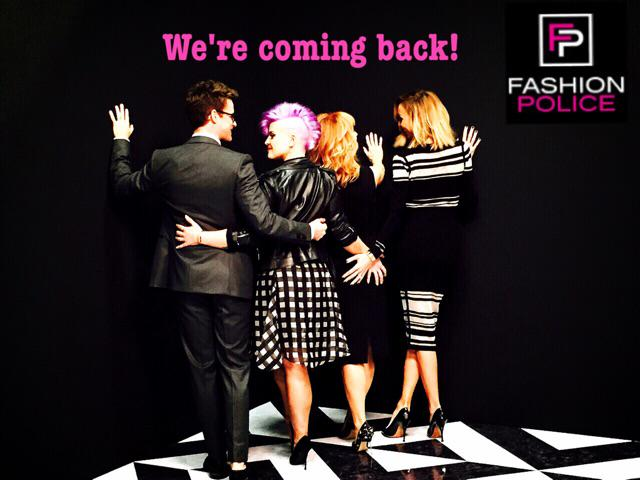 Are you guys as excited as we are?@e_FashionPolice @GiulianaRancic @mrbradgoreski @kathygriffin http://t.co/xqVcE8PV5H