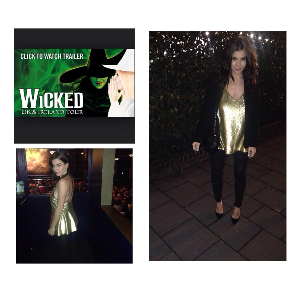 RT @CharlotteFYoung: Fabulous show tonight! Here my client @Imogen_Thomas at #WickedUK #medianight @WickedUK http://t.co/6K4ipKncS1