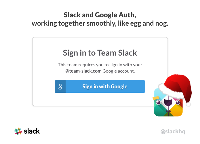 slack log in