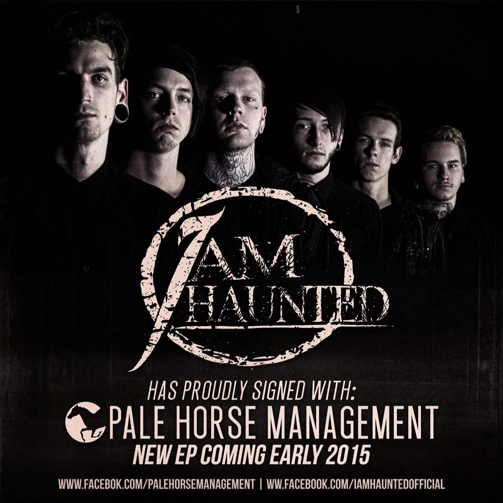 We recently signed with @PaleHorseMgmt , keep a look out for future announcements including new music, tours, & more! http://t.co/rUsOM6Y9WT