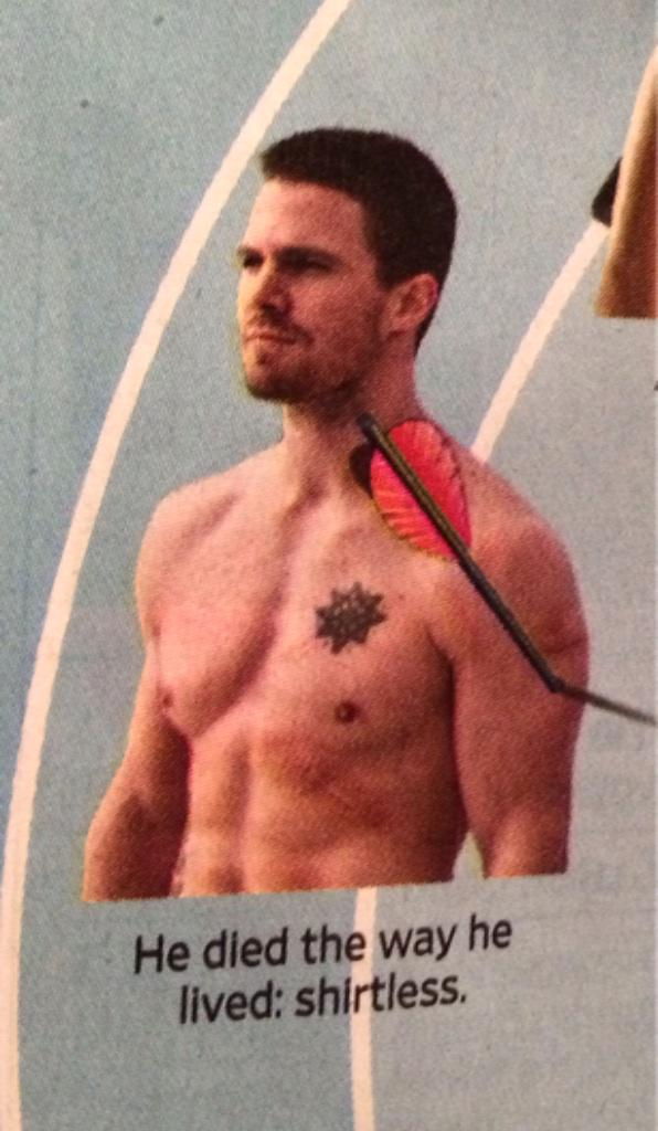 The arrow finale still kills me. But have to give EW props for including @amellywood in the weekly bullseye column http://t.co/HzWUFBFGNy
