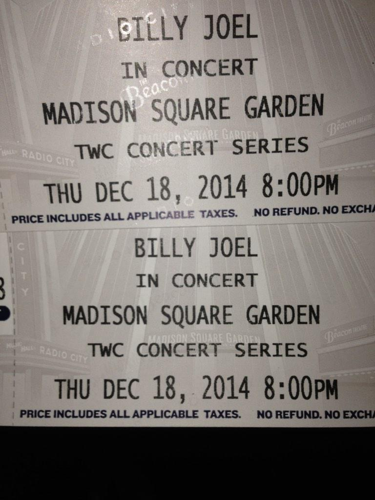 THE piano man!! http://t.co/A9j7PVReHG @TheGarden @billyjoel #BillyJoel #MadisonSquareGarden http://t.co/uL8XE7YJrX