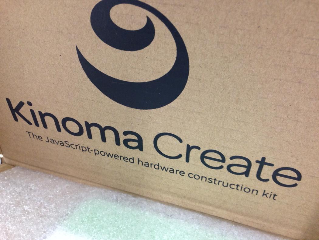Kinoma Create届いた! http://t.co/GFBQOsgpDW