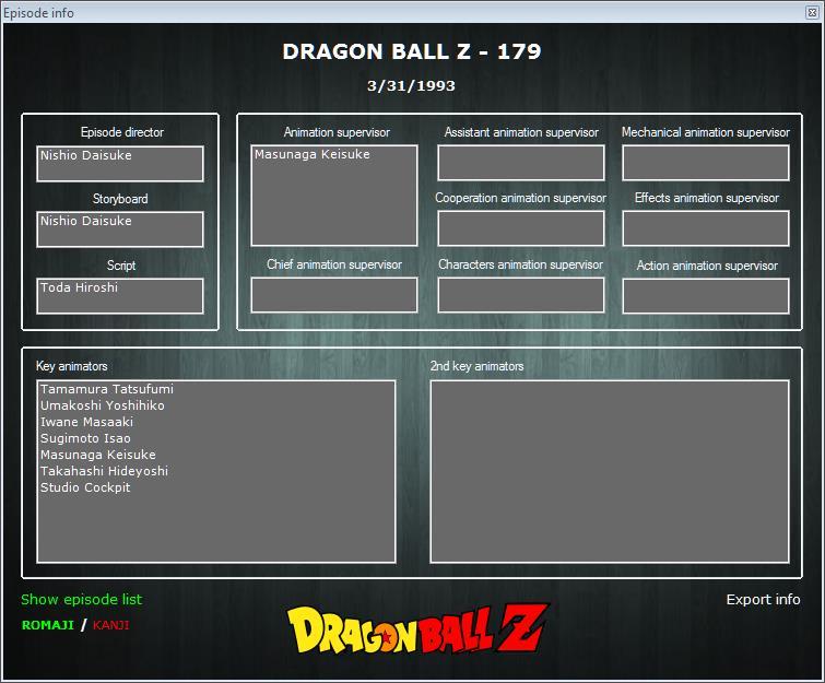Dragon Ball Animation Appreciation Thread • Kanzenshuu