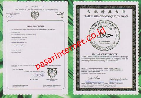 sertifikat halal sunhope