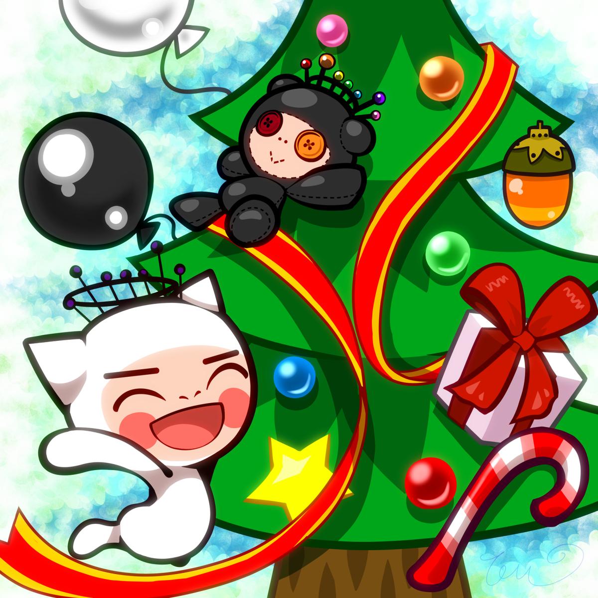 【電波人間のクリスマス2014】 てうさんのイラスト