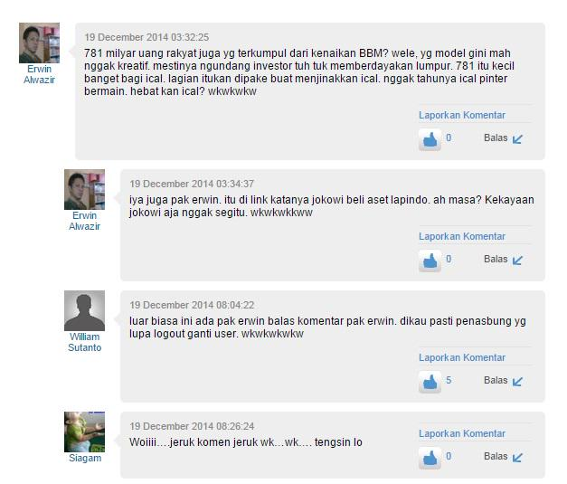 Pak Erwin reply Pak Erwin. (dari kolom Komentar di http://t.co/69YC6GFrzl) http://t.co/OhWU18kQwr