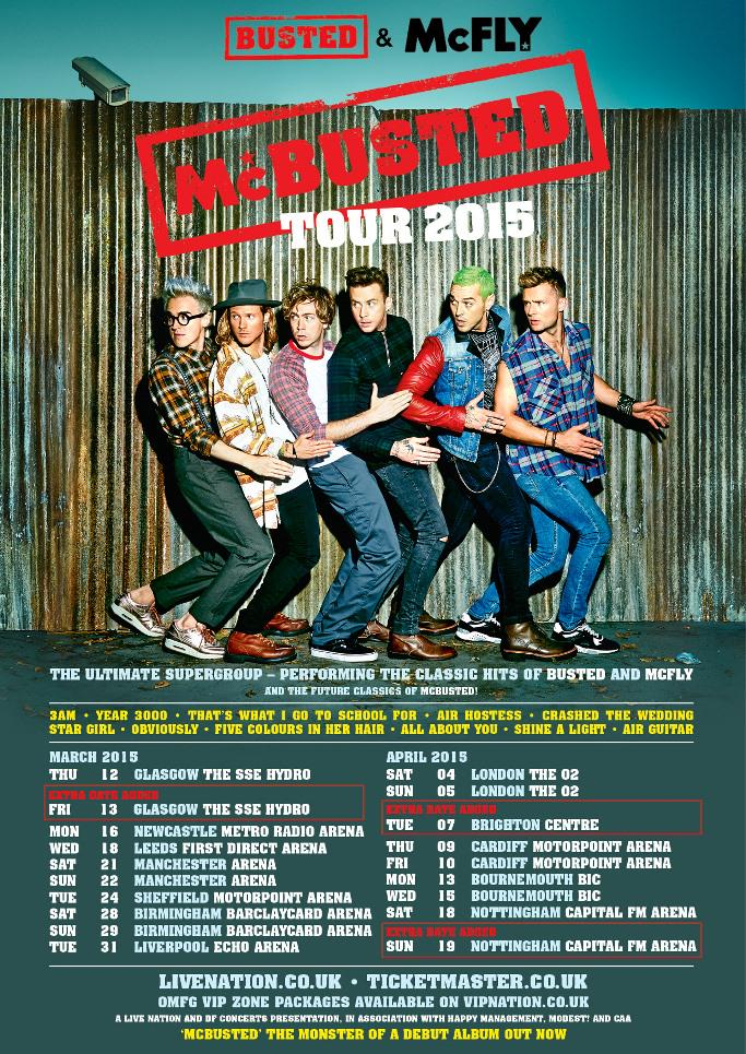 RT @mcbusted: Tickets to our new show at Brighton Centre on April 7th 2015 are on sale now! Goooo! http://t.co/bxyqb7tW8S http://t.co/ZpJUH…
