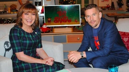 RT @ITVLorraine: 'I knew it was going to be an extraordinary film' Ethan Hawke on film Boyhood which took a record 12 YEARS to make http://…