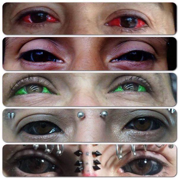 tatouage des yeux, la dangereuse pratique venue des etats-unis - le