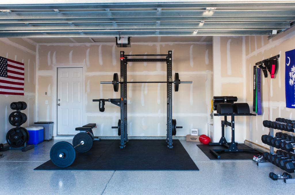 Rogue equipped garage gyms photo gallery home gyms in