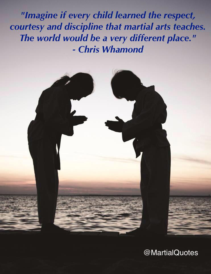 martial arts quotes on twitter imagine if every child