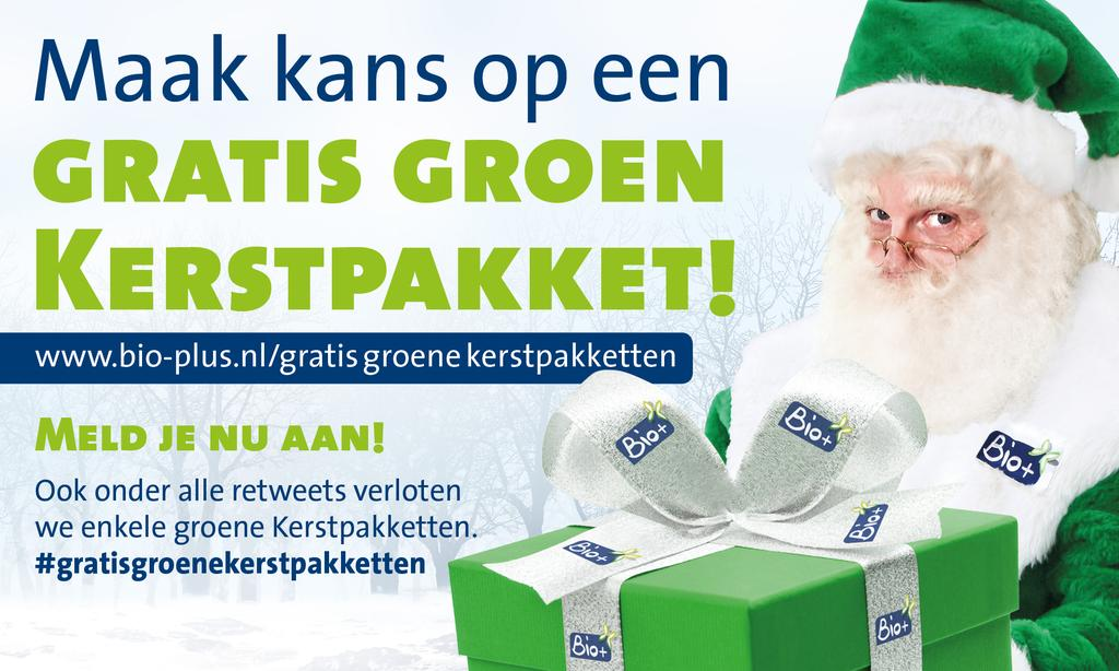 Maak kans op Groen Kerstpakket van de Groene #Kerstman! #duurzaam #bio Kijk op @Biometplus of http://t.co/fDnsSwQ7Gs http://t.co/HBT03l58jK