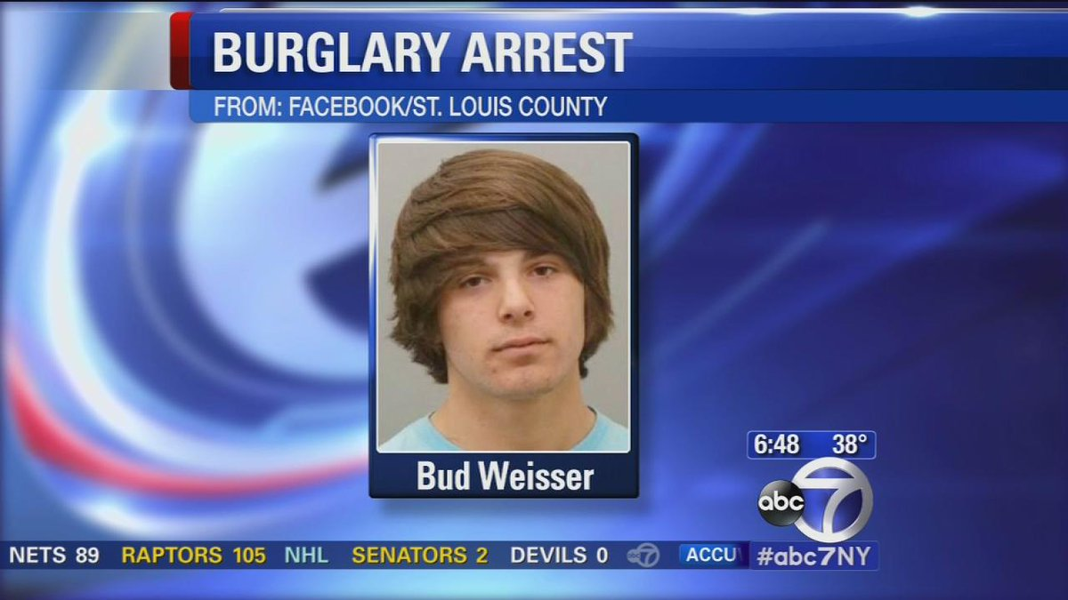 """@ABC7Chicago: Teen named Bud Weisser accused in STL store burglary http://t.co/Ss0WlfGkyW http://t.co/gkhliqvrGW"" LOL"