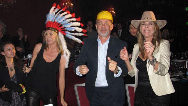 Photo blast from the past: Dancing the night away @unicefusa with @tomhanks and @RitaWilson aka #TheVillagePeople http://t.co/gO4xOhQ3by