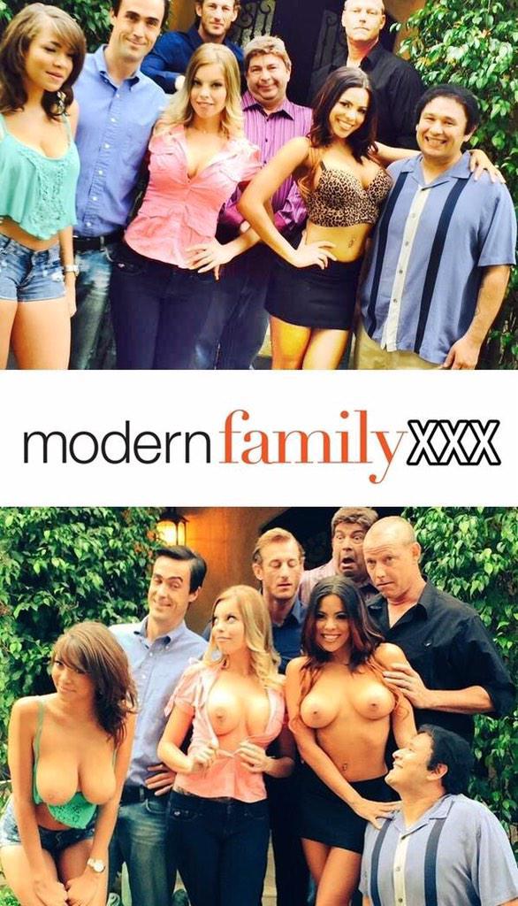 this aint modern family xxx