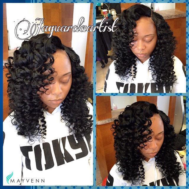 Mayvenn On Twitter Super Cute Tiny Wand Curls Jaguardaartist S Client Whos Wearing The Brazilian Deep Wave Mayvennhair Http T Co 1qrpgwirpr