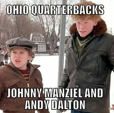 Christmas Story Meme.Shooter Mcgavin On Twitter The Current Ohio Nfl