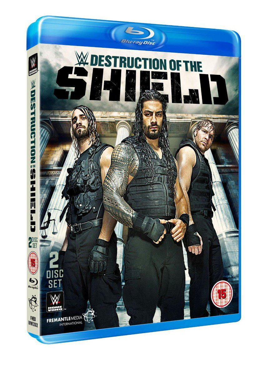 """@msAmandaZOUK: #OmfG CAN'T WAIT TO HAVE THIS DVD! @TheShieldWWE @WWERollins @WWERomanReigns @TheDeanAmbrose http://t.co/9lWRGgANfj""Me too!"
