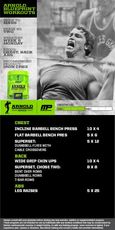 Musclepharm on twitter mp workout of the day arnold blueprint never miss a moment malvernweather Choice Image