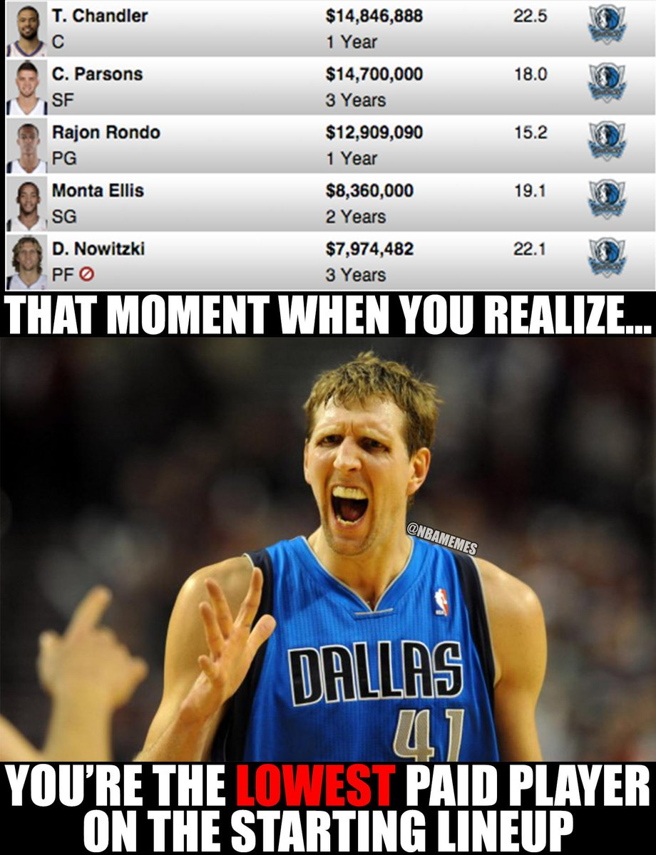 Nba Memes On Twitter Did You Know Dirk Nowitzki Is The Lowest