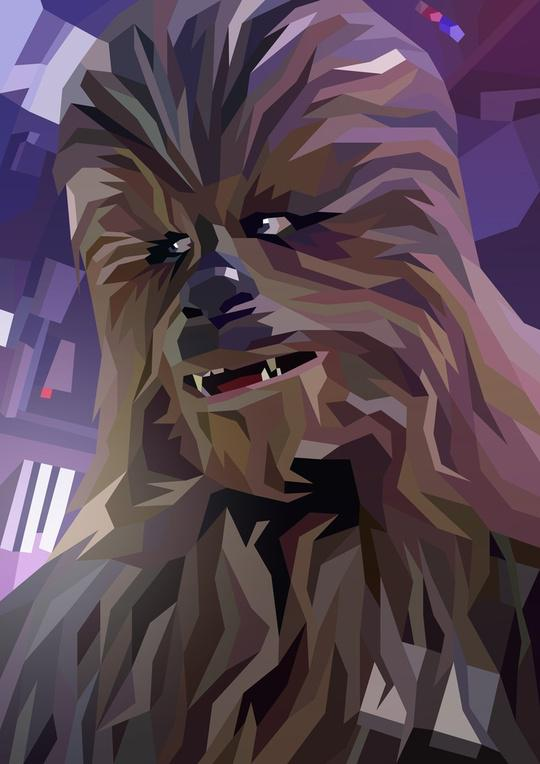 Attempting a @StarWars portrait every week from now until #TheForceAwakens. Here's #1: Chewbacca  @TheWookieeRoars http://t.co/m0gO8smBoE