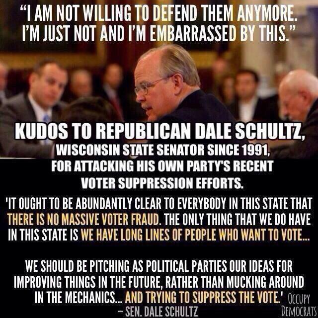 """@UniteBlueWI: Outgoing state Sen. Dale Schultz vents his spleen at his own GOP http://t.co/fHyCN1grLM #UniteBlue http://t.co/dd12T9Vydy""#p2"