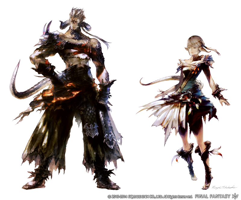 final fantasy xiv on twitter introducing the new playable race