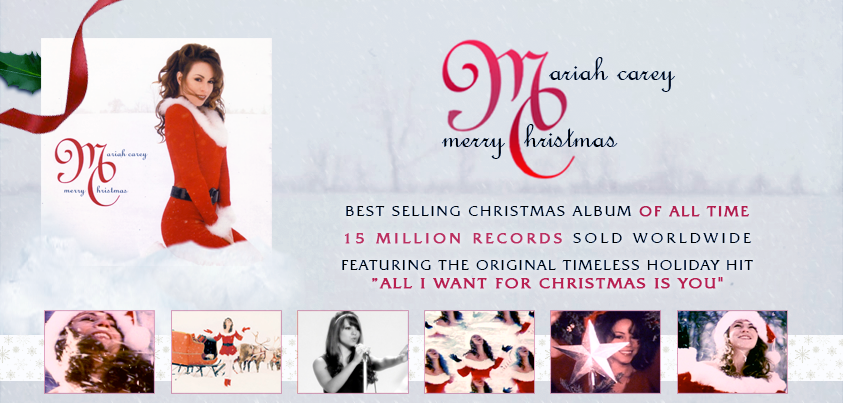 @MariahCarey's #MerryChristmas / #AllIWantForChristmas iTunes http://t.co/vFYOQja4uP or Amazon http://t.co/YcsroUfPlR http://t.co/1FWx88WtMC