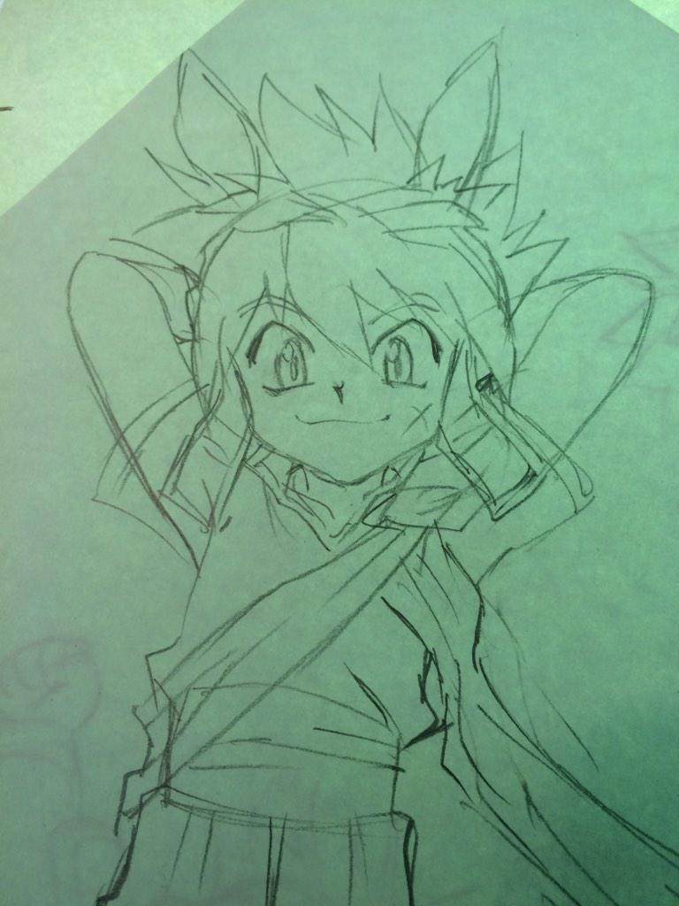 そしてグランゾートのイラストをまた描いてたりします。(^^) http://t.co/AcBckG05bv