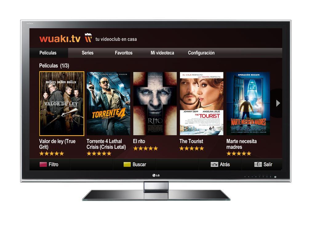 Il sito Wuaki.tv propone Film e Serie TV in streaming on demand