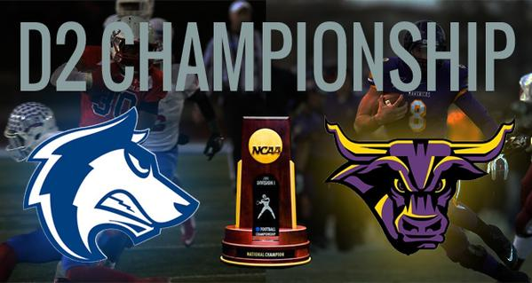 A national title is on the line today. Who ya go? #NCAAD2  Retweet for @MinnStFootball Favorite for @CSUPFootball http://t.co/0irlkPaeJ2