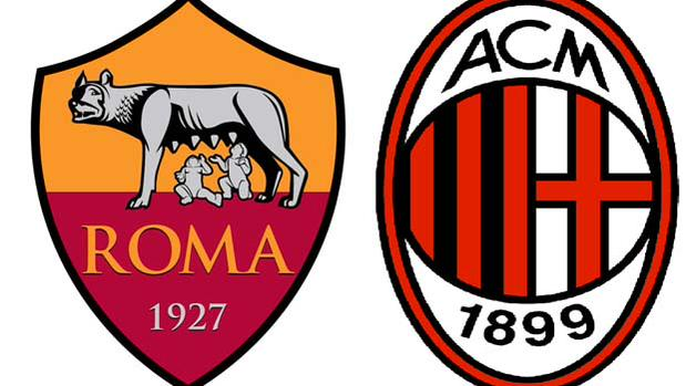 Diretta Roma Milan Streaming Calcio oggi