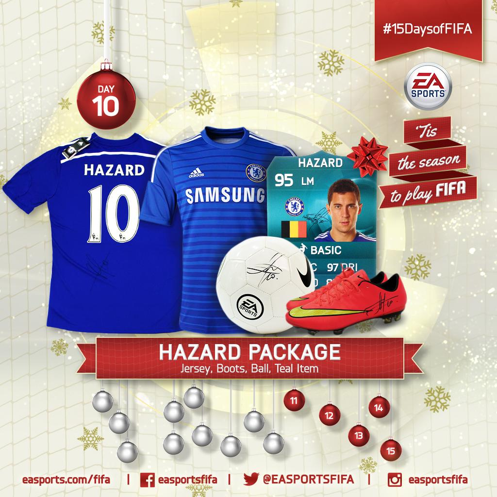 Day 10: signed @hazardeden10 package! FOLLOW @EASPORTSFIFA and RETWEET for a chance to win. #15DaysofFIFA http://t.co/CiWX1hGfap