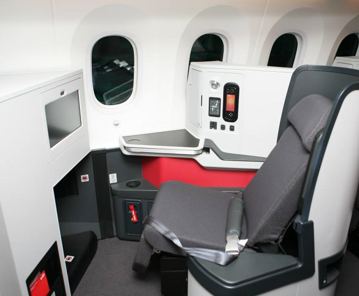 Aviaci n al d a on twitter business class del boeing 787 for Interior 787 avianca