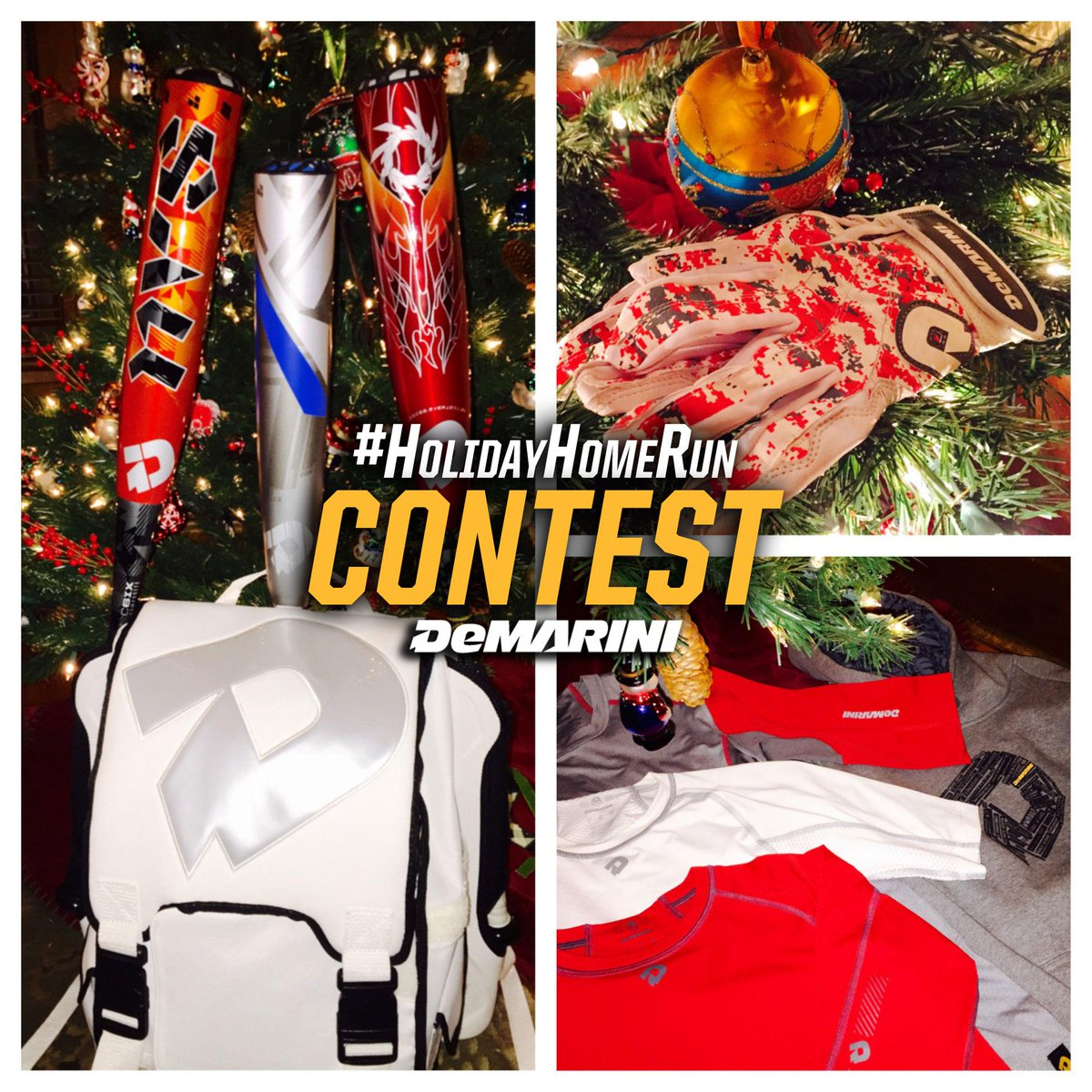 SURPRISE! We're awarding a second winner for this awesome contest. Just follow us & RT to enter! #HolidayHomeRun http://t.co/IU9zj86rrE