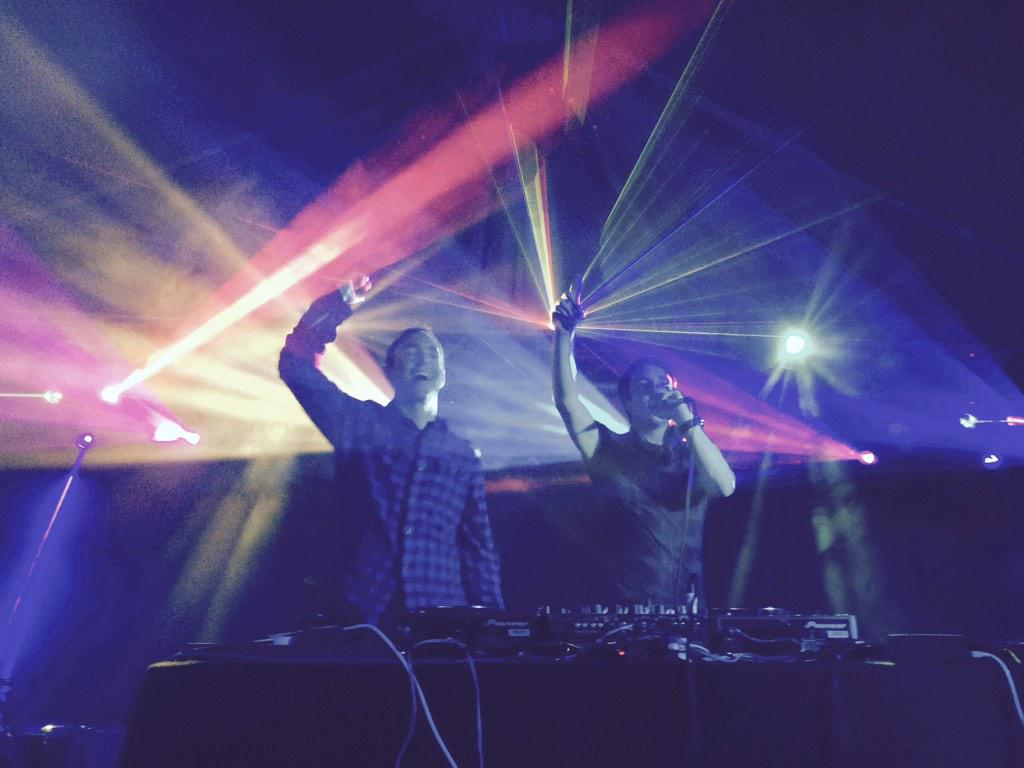 My new favourite DJ photos! Me and @Chris_Stark @DevonYFC ha! http://t.co/QUiY4LXQx4
