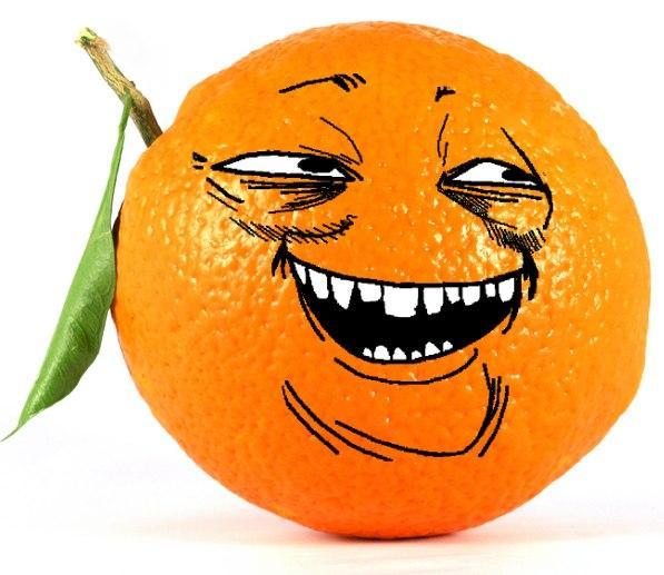 Картинка апельсин прикольный, днем
