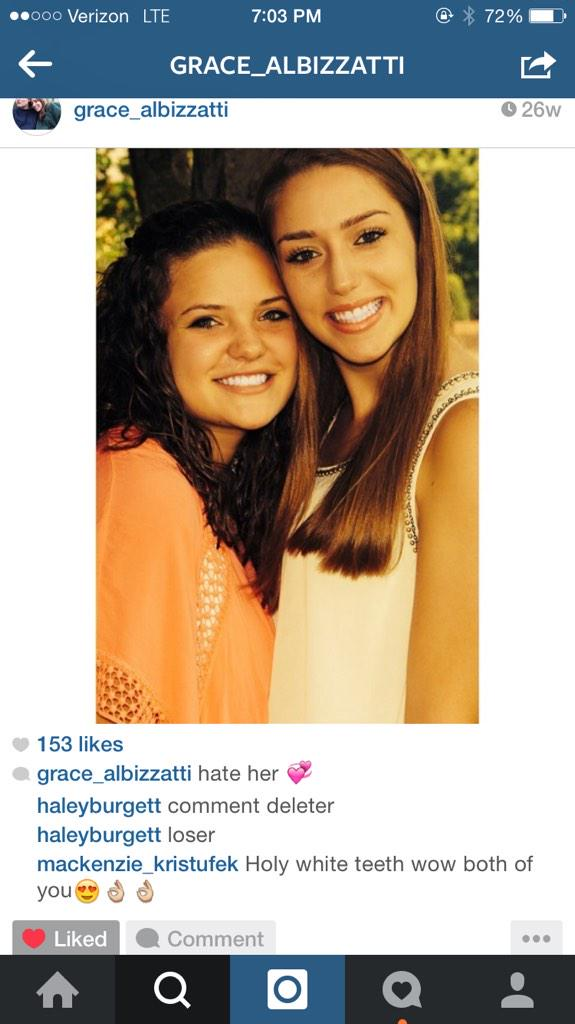 Carson Staples On Twitter At Gracealbizzatti Picture Of Two Girl