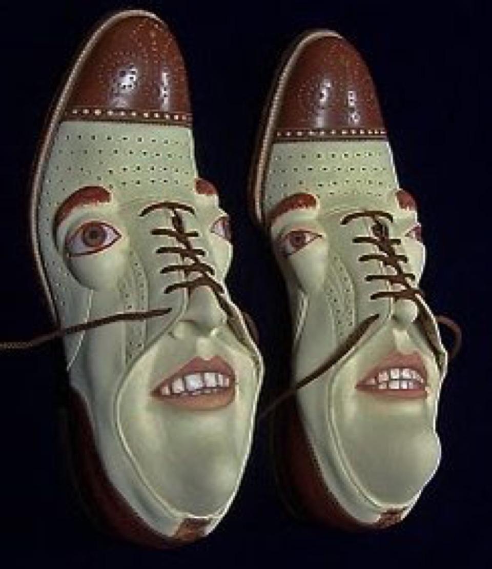 shoe fetish sculpture