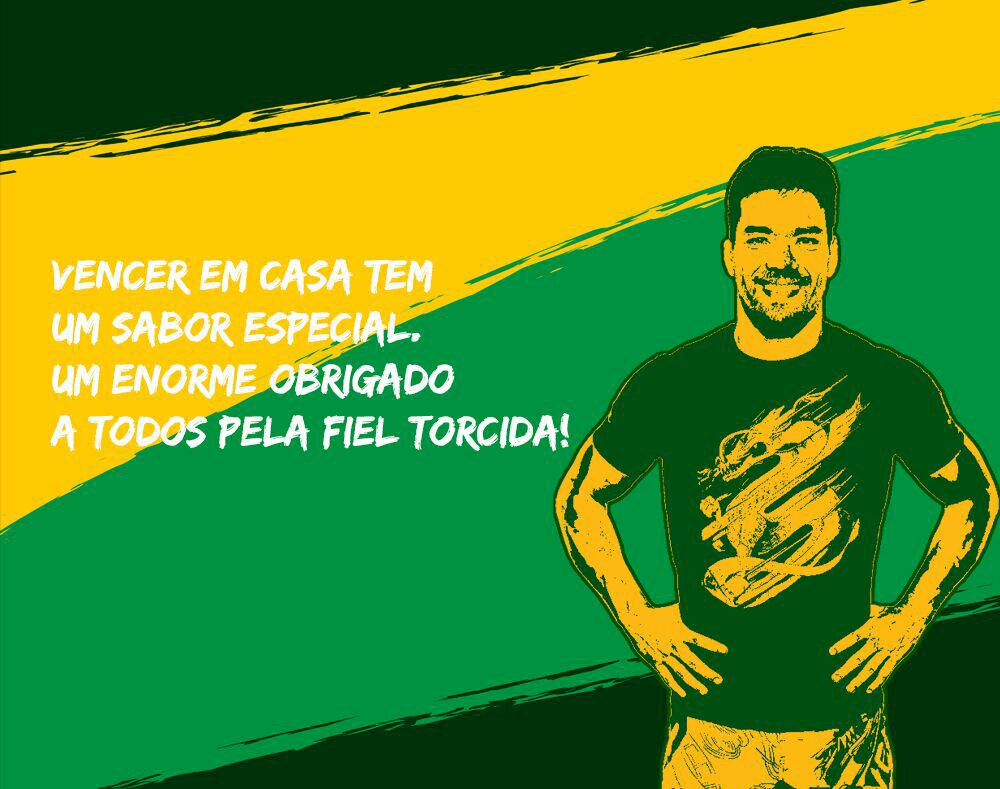 Vencer em casa é vencer duas vezes! Winning at home is winning twice! #TáemcasaLyoto #MyArena #PressLyoto http://t.co/lougysORNX