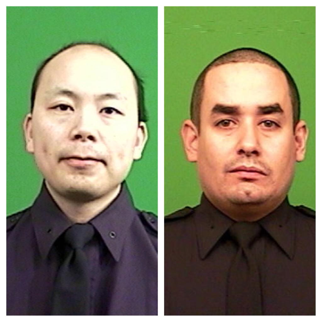 R.I.P. NYPD Officers Wenjian Liu and Rafael Ramos, murdered today in Brooklyn #nbc4ny #NYPD http://t.co/4r4slVIlGa