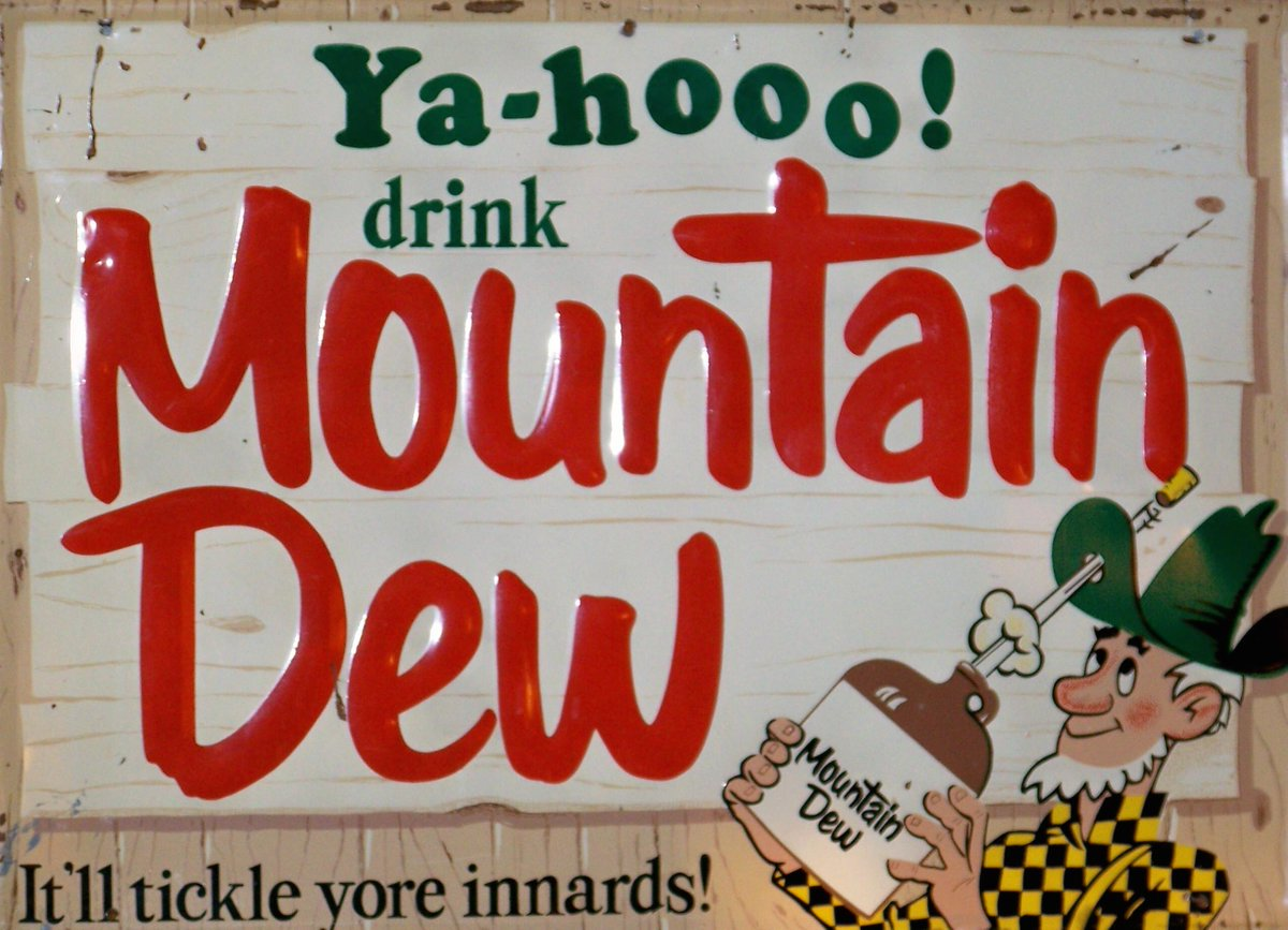 history in facts on twitter mountain dew was created to be used as