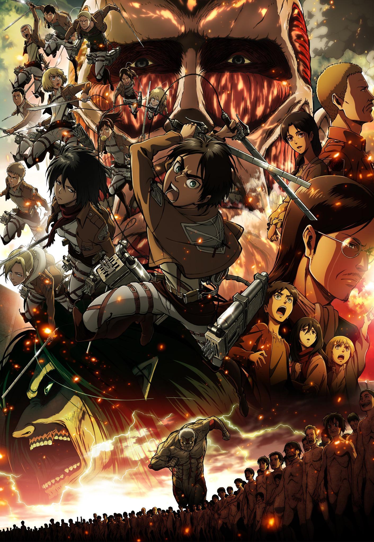 Risultati immagini per attack on titan the 9 titan